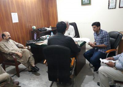 AL-QAHTANI DELEGATES INTERVIEWING CANDIDATES