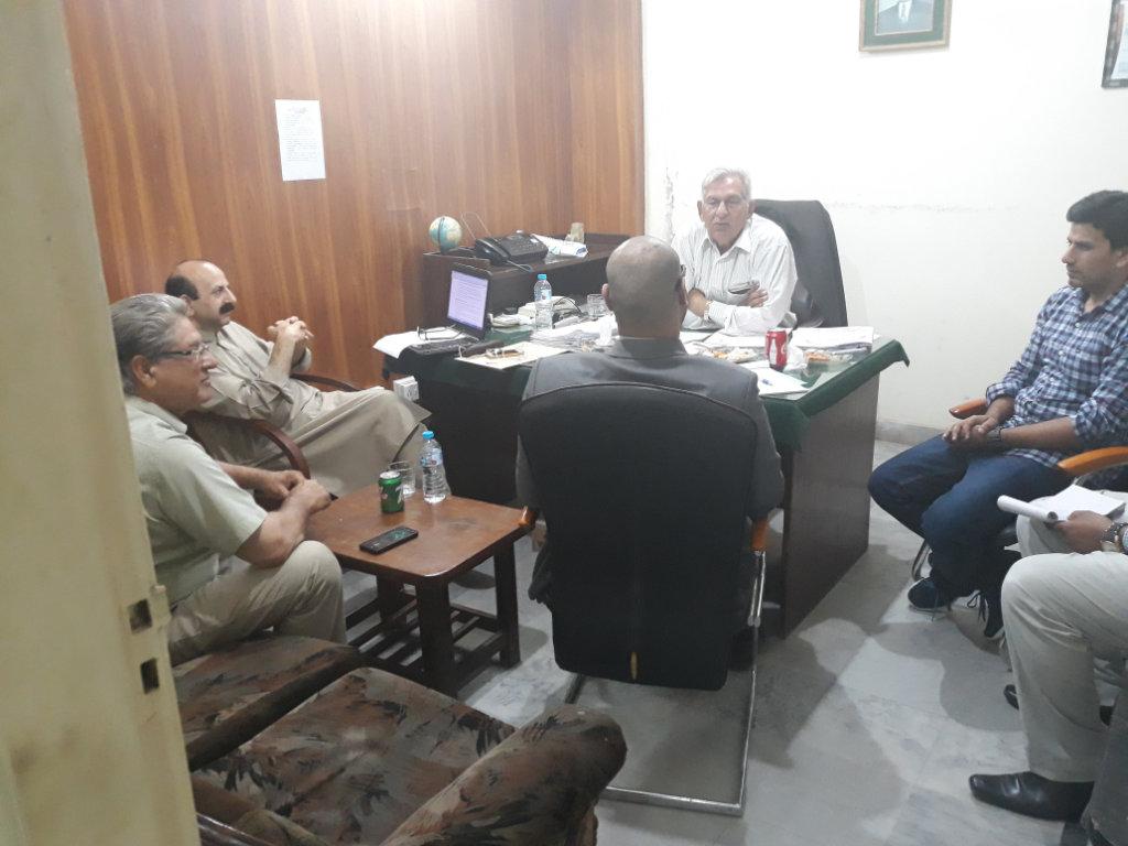 Al Qahtani Delegation Interviewing