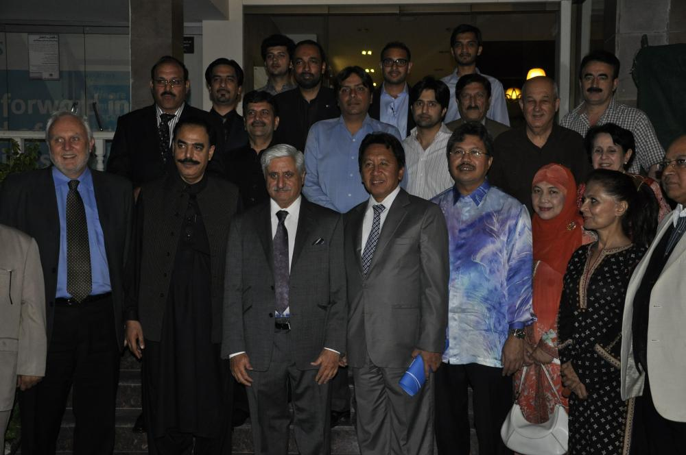 President with a Delegation