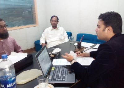 INTERVIEW AT KARACHI OFFICE