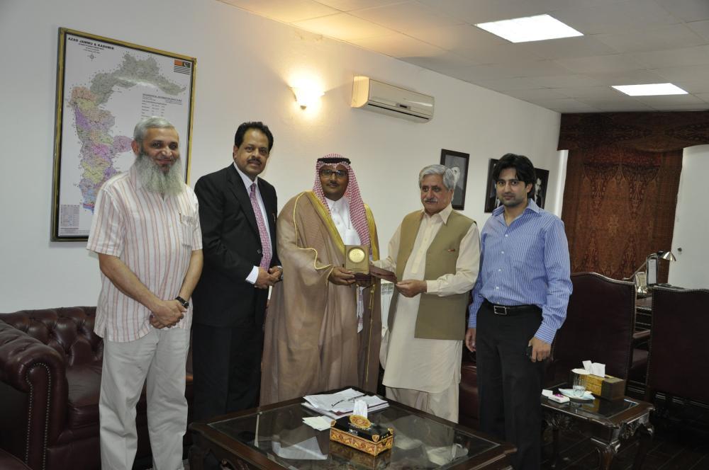 Meeting with Mr Khalid Al Sadi