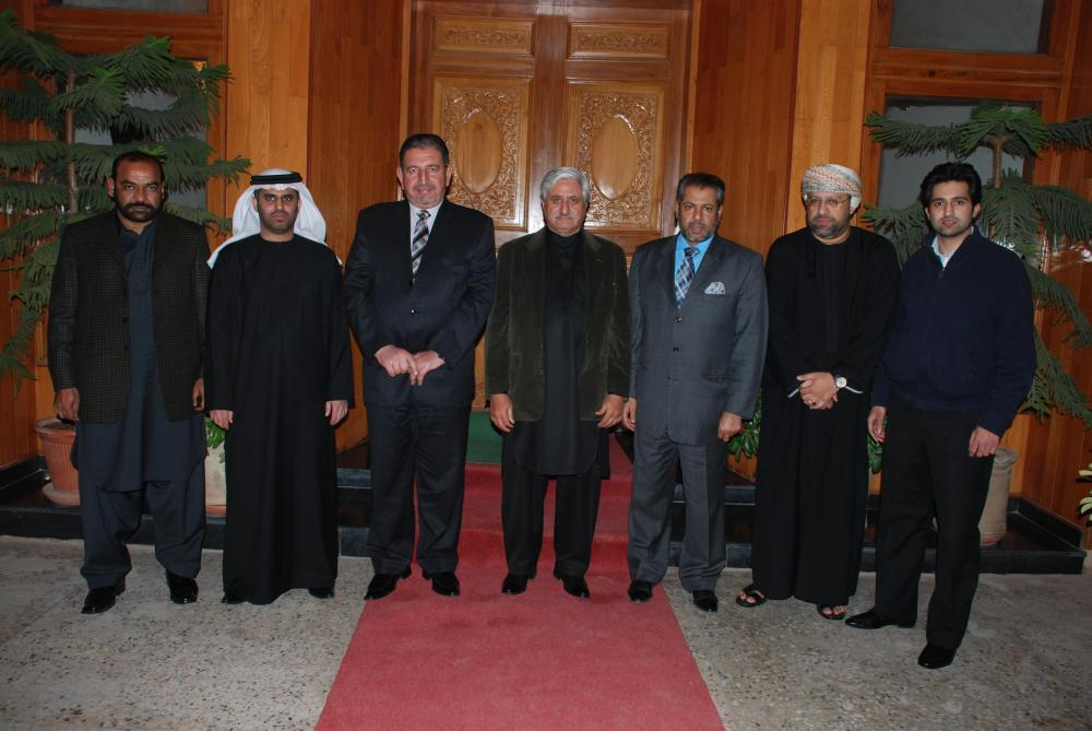Chairman with Ambassadors of Muscat & UAE