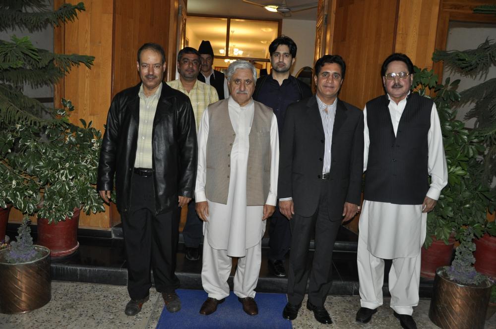 Chairman with Qatar Delegation