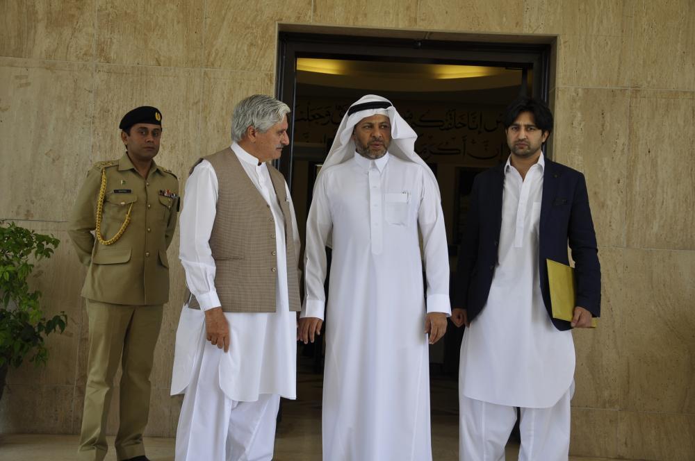 President with Ambassador of Saudi Arabia